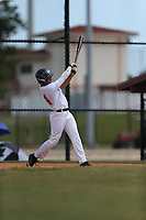 Anthony Cardona Guzman (64) of Carlos Beltran Baseball Academy in Vega Baja, Puerto Rico during the Under Armour Baseball Factory National Showcase, Florida, presented by Baseball Factory on June 12, 2018 the Joe DiMaggio Sports Complex in Clearwater, Florida.  (Nathan Ray/Four Seam Images)