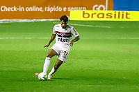 23rd August 2020; Estadio Ilha do Retiro, Recife, Pernambuco, Brazil; Brazilian Serie A, Sport Recife versus Sao Paulo; Diego of Sao Paulo breaks forward on the ball