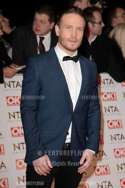 Matthew Wolfenden arrives for the National TV Awards 2015 at the O2 Arena, Greenwich London. 21/01/2015 Picture by: Steve Vas / Featureflash