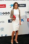 """King Felipe of Spain and Queen Letizia of Spain attend 'XIII EDICIÓN DE LOS PREMIOS INTERNACIONALES DE PERIODISMO 2013 Y CONMEMORACIÓN DEL 25º ANIVERSARIO DEL DIARIO """"EL MUNDO"""" at The Westin Palace Hotel. <br /> Carmen Posadas<br /> October 20, 2014. (ALTERPHOTOS/Emilio Cobos)"""