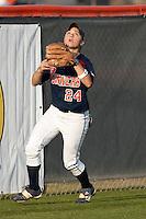 SAN ANTONIO, TX - MARCH 8, 2007: The Univesity of Texas Longhorns vs. The University of Texas at San Antonio Roadrunners Softball at Roadrunner Field. (Photo by Jeff Huehn)
