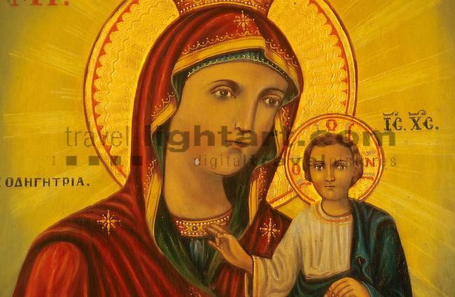 Protaras, Monte Elias Chapel, Ikone, Icon, Cyprus, Zypern