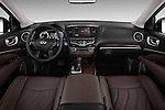 Straight dashboard view of 2013 Infiniti QX35 / JX35