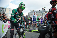 Liege-Bastogne-Liege 2012.98th edition..Thomas Voeckler tinkering until the last minute