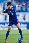 Suwon Forward Park Gidong in action during the AFC Champions League 2017 Group G match between Suwon Samsung Bluewings (KOR) vs Kawasaki Frontale (JPN) at the Suwon World Cup Stadium on 25 April 2017, in Suwon, South Korea. Photo by Yu Chun Christopher Wong / Power Sport Images