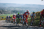 The peloton climb La Redoute during the 107th edition of Liege-Bastogne-Liege 2021, running 259.1km from Liege to Liege, Belgium. 25th April 2021.  <br /> Picture: A.S.O./Aurelien Vialatte | Cyclefile<br /> <br /> All photos usage must carry mandatory copyright credit (© Cyclefile | A.S.O./Aurelien Vialatte)