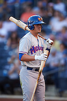 Midland RockHounds third baseman Ryon Healy (25) during a game against the Tulsa Drillers on June 2, 2015 at Oneok Field in Tulsa, Oklahoma.  Midland defeated Tulsa 6-5.  (Mike Janes/Four Seam Images)