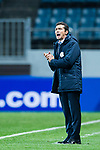 Adelaide United head coach Amor Guillermo reacts during the AFC Champions League 2017 Group Stage - Group H match between Jeju United FC (KOR) vs Adelaide United (AUS) at the Jeju World Cup Stadium on 11 April 2017 in Jeju, South Korea. Photo by Marcio Rodrigo Machado / Power Sport Images