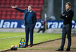 St Johnstone v Inverness Caley Thistle…03.12.16   McDiarmid Park..     SPFL<br />Tommy Wright points the way<br />Picture by Graeme Hart.<br />Copyright Perthshire Picture Agency<br />Tel: 01738 623350  Mobile: 07990 594431