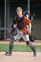 January 17, 2010:  Garrett Lewis (El Paso, TX) of the Baseball Factory Texas Team during the 2010 Under Armour Pre-Season All-America Tournament at Kino Sports Complex in Tucson, AZ.  Photo By Mike Janes/Four Seam Images