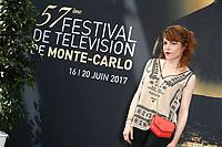 Anne-Elisabeth BLATEAU - Photocall 'SCENES DE MENAGE' - 57ème Festival de la Television de Monte-Carlo. Monte-Carlo, Monaco, 17/06/2017. # 57EME FESTIVAL DE LA TELEVISION DE MONTE-CARLO - PHOTOCALL 'SCENES DE MENAGE'