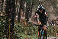 rainsoaked Toon Aerts (BEL/Telenet-Baloise Lions)<br /> <br /> Men's Race at the X2O Herentals Cross 2020 (BEL)<br /> <br /> ©kramon