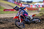 Cody Cooper competes in MX1 race one. 2021 New Zealand Motocross Grand Prix at Old Gorge Road in Woodville , New Zealand on Sunday, 31  January 2021. Photo: Dave Lintott / lintottphoto.co.nz