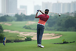 Ricky Chan plays during the World Celebrity Pro-Am 2016 Mission Hills China Golf Tournament on 23 October 2016, in Haikou, Hainan province, China. Photo by Marcio Machado / Power Sport Images