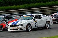 #22 Starworks Motorsport Mustang BOSS 302R of Enzo Potolicchio & Ryan Dalziel (GS class)