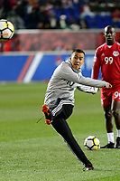 Harrison, NJ - Tuesday April 10, 2018: Alejandro Romero Gamarra prior to leg two of a  CONCACAF Champions League semi-final match between the New York Red Bulls and C. D. Guadalajara at Red Bull Arena. C. D. Guadalajara defeated the New York Red Bulls 0-0 (1-0 on aggregate).