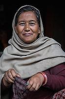 Candle Maker in Swayambhunath, Nepal