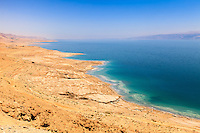Israel landscape of dead sea
