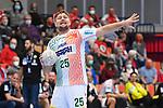 Magdeburgs Marko Bezjak (Nr.25) gibt Anweisungen beim Spiel in der Handball Bundesliga, Die Eulen Ludwigshafen - SC Magdeburg.<br /> <br /> Foto © PIX-Sportfotos *** Foto ist honorarpflichtig! *** Auf Anfrage in hoeherer Qualitaet/Aufloesung. Belegexemplar erbeten. Veroeffentlichung ausschliesslich fuer journalistisch-publizistische Zwecke. For editorial use only.