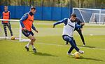 09.05.2019 Rangers training: Borna Barisic and Daniel Candeias