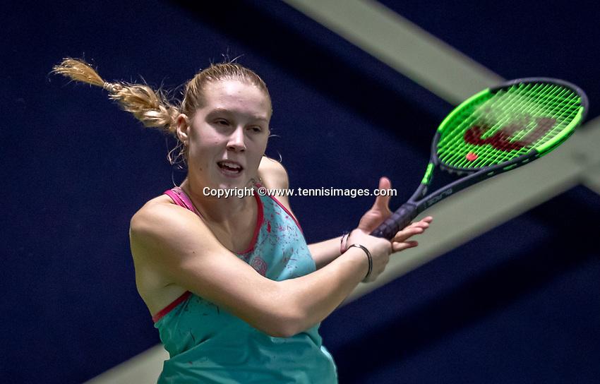 Hilversum, Netherlands, December 2, 2018, Winter Youth Circuit Masters, Melissa Boyden (NED)<br /> Photo: Tennisimages/Henk Koster