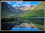 """An alpine lake near American Basin, outside Lake City. From John's 3rd book """"Mastering Nature Photography"""".<br /> John offers guided, photo tours of Colorado's mountains. .  John leads wildflower photo tours into American Basin and throughout Colorado. All-year long."""
