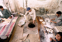 Bread-making in Peshawar, Pakistan