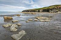 Coastal shores of Sukoi bay, Cape Douglas, Katmai National Park, Alaska Peninsula, southwest Alaska.
