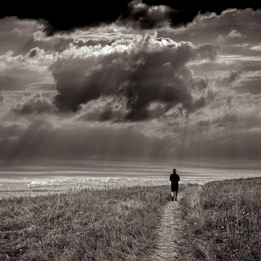 INTO THE STORM #blackandwhite #monochrome #wisconsin #midwestmemoir #photograph #landscape #B&W #wisconsinphotograph #photography #wisconsinphotographer #black&white  #midwest #prairie #clouds #cloudporn #theprintswap #motherfstop