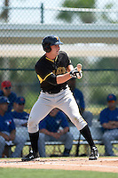 Pittsburgh Pirates Jerrick Suiter (52) during a minor league spring training game against the Toronto Blue Jays on March 26, 2015 at Pirate City in Bradenton, Florida.  (Mike Janes/Four Seam Images)