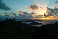Coral Bay Sunset<br /> St. John<br /> U.S. Virgin Islands