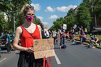 2020/06/14 Politik | Berlin | Menschenkette | #unteilbar