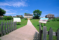 Ermatinger-Clergue National Historic Site, Sault Ste. Marie, ON, Ontario, Canada