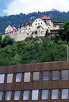 - principality of Liechtenstein, the Prince's castle....- Principato del  Liechtenstein, castello del Principe