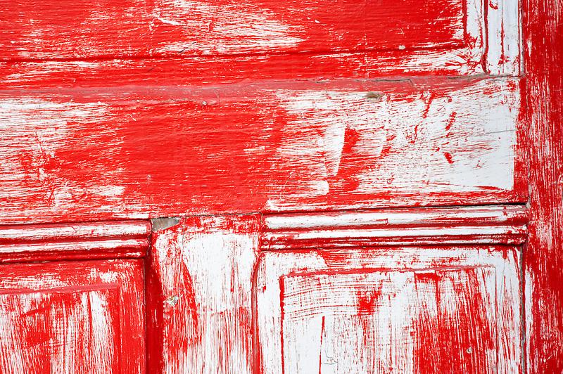 Old red door. Tucson. Arizona
