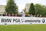 Andrew Dodt (AUS) tees off on the 1st tee to start his round on Day 2 of the BMW PGA Championship Championship at, Wentworth Club, Surrey, England, 27th May 2011. (Photo Eoin Clarke/Golffile 2011)