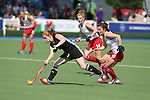 Glasgow 2014 Commonwealth Games<br /> Wales v England<br /> Sarah Jones in action.<br /> Glasgow National Hockey Centre<br /> <br /> 24.07.14<br /> ©Steve Pope-SPORTINGWALES