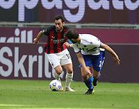 Milano 03-04-2021<br /> Stadio Giuseppe Meazza<br /> Serie A  Tim 2020/21<br /> Milan - Sampdoria<br /> Nella foto:  Hakan Calhanoglu                                    <br /> Antonio Saia Kines Milano