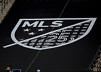 LOS ANGELES, CA - AUGUST 22: MLS during a game between Los Angeles Galaxy and Los Angeles FC at Banc of California Stadium on August 22, 2020 in Los Angeles, California.