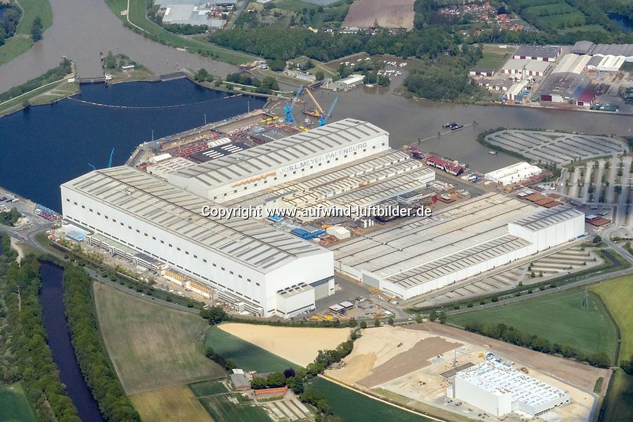Meyer Werft Papenburg: EUROPA, DEUTSCHLAND, NIEDERSACHSEN, WILHELMSHAVEN  (EUROPE, GERMANY), 09.05.2020: Meyer Werft Papenburg