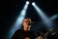 Pictured: Norman Blake of the Teenage Fanclub performs at the Far Out stage. Sunday 22 August 2021<br /> Re: Green Man Festival near Crickhowell, Wales, UK.
