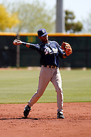 Jonathan Galvez   - San Diego Padres - 2009 extended spring training.Photo by:  Bill Mitchell/Four Seam Images