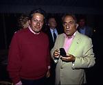 EMILIO FEDE CON PAOLO LIGUORI<br /> FESTA PER I 60 ANNI DI MAURIZIO COSTANZO<br /> MANEGGIO DI GIANNELLA  1998