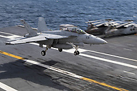 ATLANTIC OCEAN - MARCH 30: Business as usual as US Navy remains on alert at all times as training continues despite COVID-19 outbreak in the USA on March 30, 2020 in The Atlantic Ocean<br /> <br /> People:  US Navy