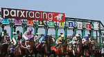 September 07, 2015. Start of race six. Undercard races and scenes around the track on Labor Day at  Parx Racing in Bensalem, PA.  (Joan Fairman Kanes/ESW/CSM)