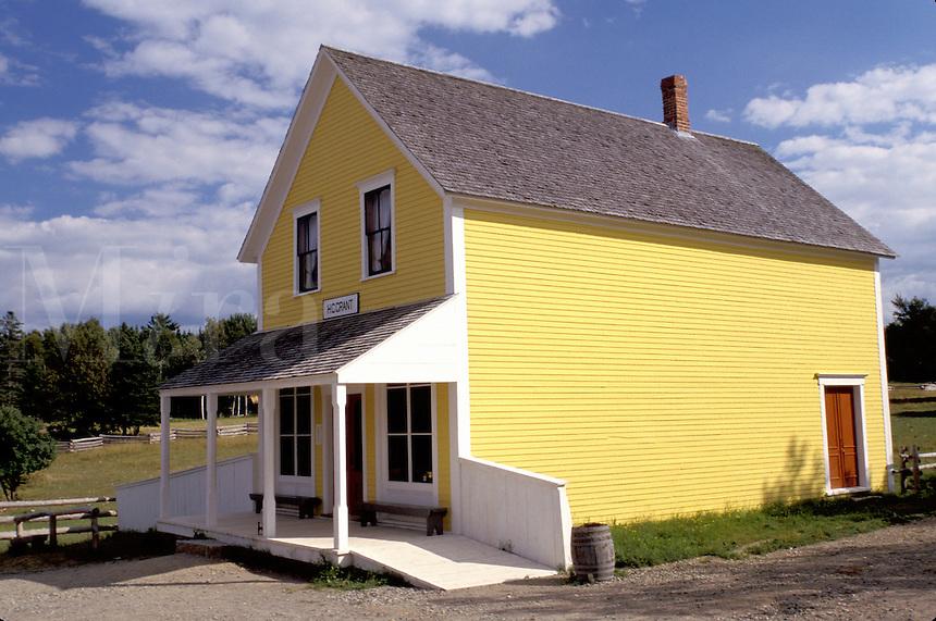 New Brunswick, NB, Canada, Grant Store at King's Landing Historical Settlement