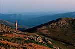 Italie. Italia. Sardaigne. Sardinia.Vue depuis les sommets jumeaux du Bruncu Pina et de la Marmora (1829 et 1834 m)