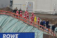 Mannschaft der Wuerzburger Kickers kommt zum Spiel<br /> <br /> - 19.12.2020: Fussball 2. Bundesliga, Saison 20/21, Spieltag 13, SV Darmstadt 98 - Wuerzburger Kickers, Stadion am Boellenfalltor, emonline, emspor, <br /> <br /> Foto: Marc Schueler/Sportpics.de<br /> Nur für journalistische Zwecke. Only for editorial use. (DFL/DFB REGULATIONS PROHIBIT ANY USE OF PHOTOGRAPHS as IMAGE SEQUENCES and/or QUASI-VIDEO)