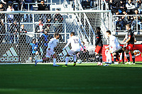 WASHINGTON, DC - MARCH 07: Rodolfo Pizarro #10 of Inter Miami CF celebrates his score during a game between Inter Miami CF and D.C. United at Audi Field on March 07, 2020 in Washington, DC.