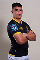 Keelan Whitman. 2021 Wellington Lions official rugby headshots at Rugby League Park in Wellington, New Zealand on Monday, 26 July 2021. Photo: Dave Lintott / lintottphoto.co.nz